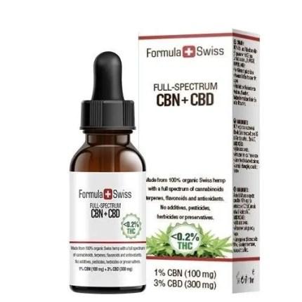 CBN+CBD olje ifra Formula swiss