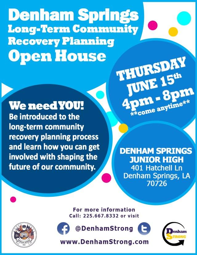 Community Meeting on June 15