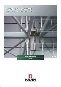Erdviniu rysiu-lynu sistema HALFEN DETAN Denia Solutions Brosiura