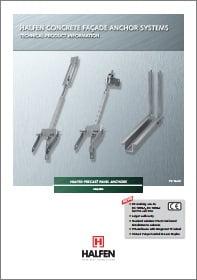 Gelzbetoninio fasado tvirtinimo elementai HALFEN FPA Denia Solutions Brosiura