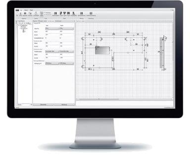 Gelzbetoninio fasado tvirtinimo elementai HALFEN FPA Denia Solutions Projektavimo programa