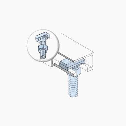 Tvirtinimo begeliai HALFEN HTA Denia Solutions 2