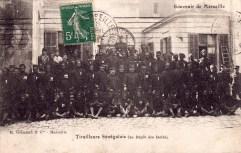 Carte postale tirailleurs sénégalais