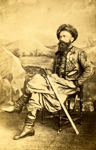 Tirailleur algérien au 19e siècle