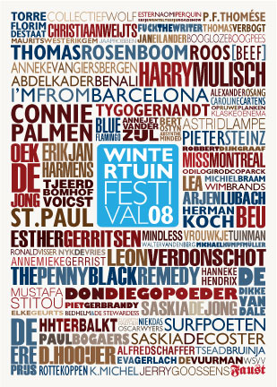 Wintertuinfestival 2008