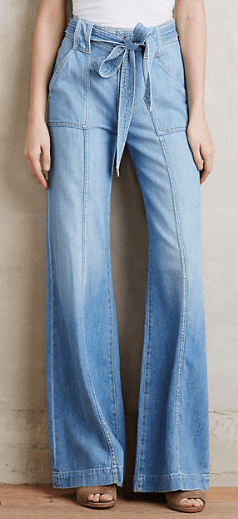 Trouser jeans, Anthropologie