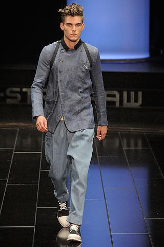 G Star Men's Chambray Jacket