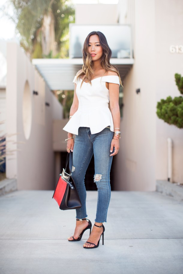 song_of_style_white_bustier_top_ripped_jeans_3