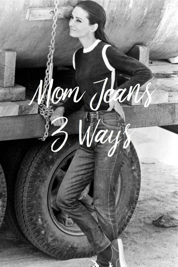 Audrey Hepburn Mom Jeans