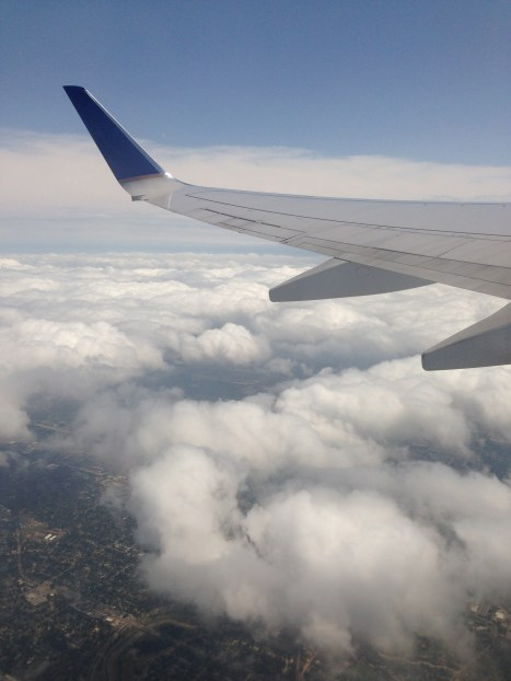 A view from my flight.