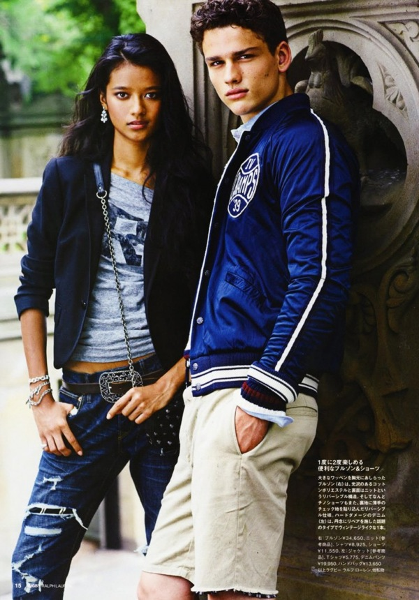 Ralph Lauren Rugby FallWinter 2010 Lookbook Denimology