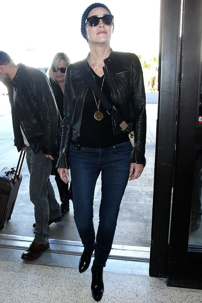 Sharon Stone Rocks In Parker Smith Jeans Denimology
