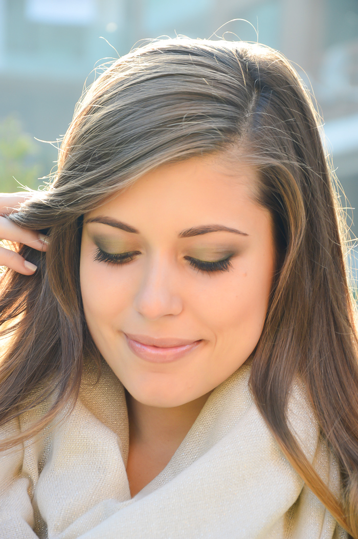 COLOR THOSE GREEN EYES Makeup Look