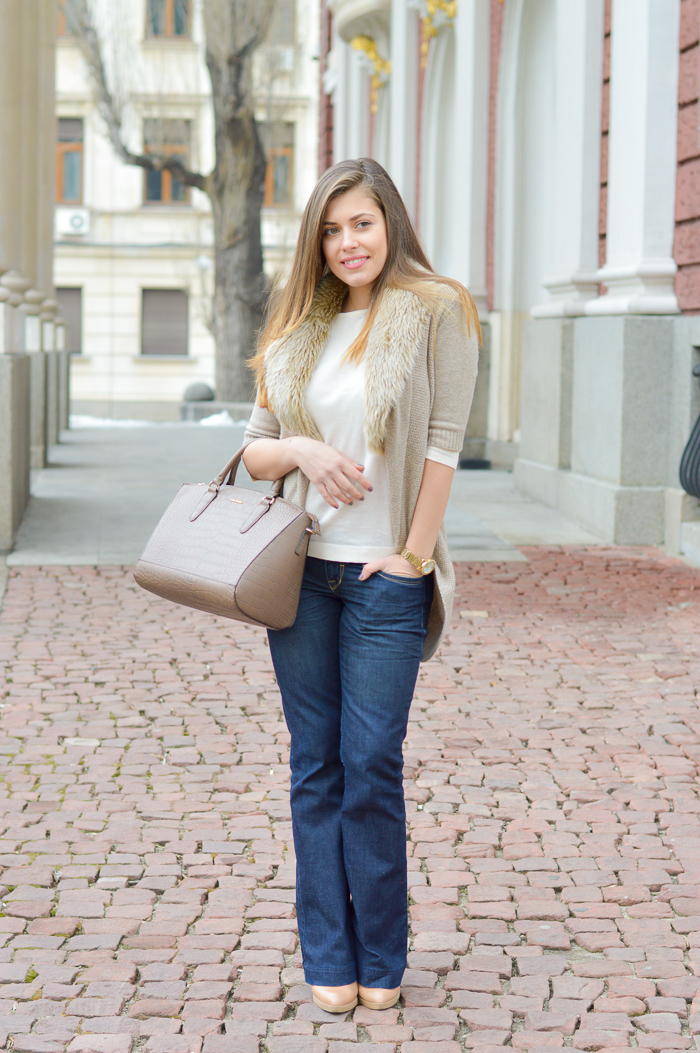 Ordinary Day in Flare Jeans Purely Me by Denina Martin
