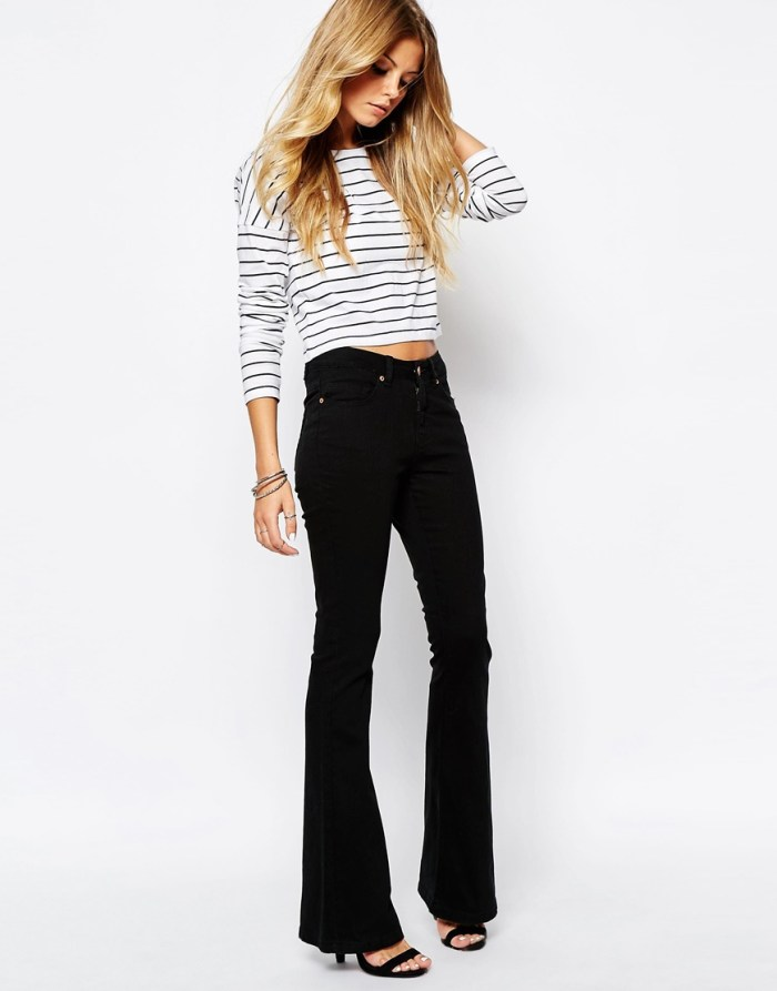 Flare Jeans Spring Wearable Trends