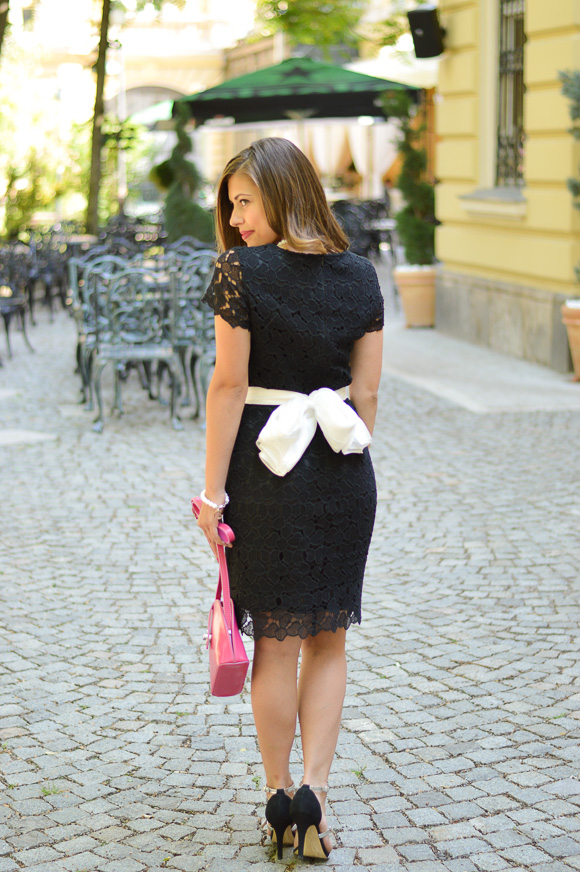 Esprit Lace Dress from Bulgaria Mall Styled by Denina Martin