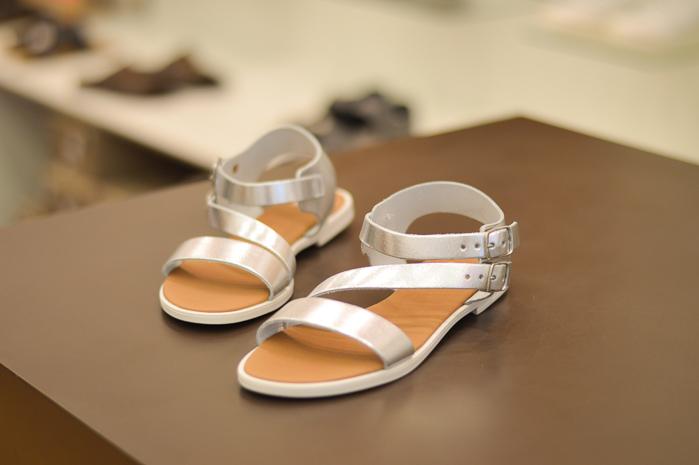 Bata Metallic Sandals at Bulgaria Mall
