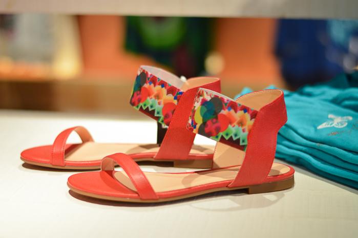 Desigual Flat Sandals at Bulgaria Mall - selected by Denina Martin