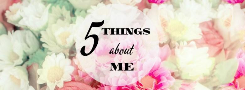 5 неща за мен - Денина