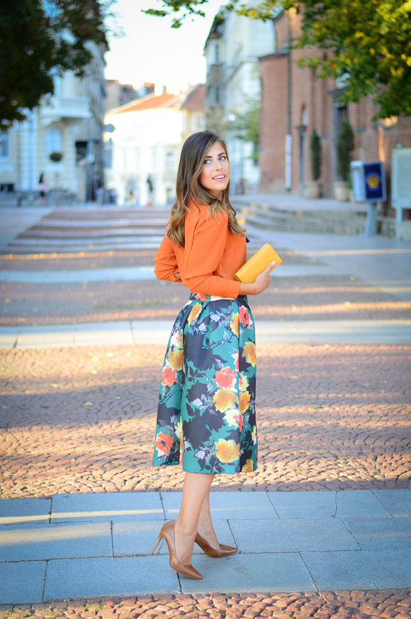 Hello September - a new look by Bulgarian fashion blogger Denina Martin