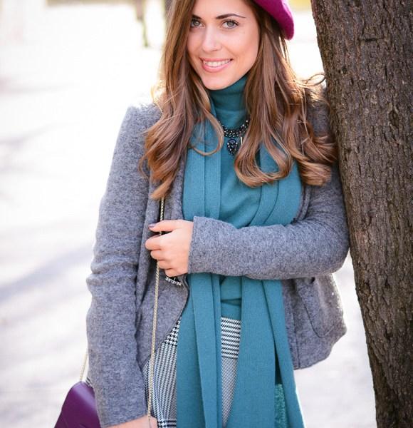 Bulgarian Fashion Blogger Denina Martin's Artistic Look