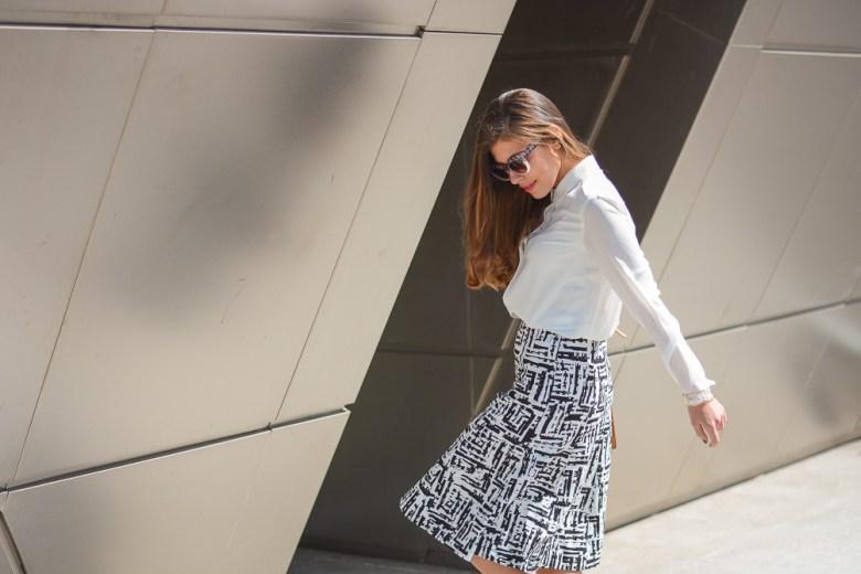 Street Style Print Skirt from Forever21
