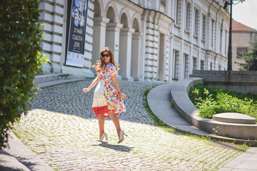 Wearing Florals Summer Outfit Liu Jo