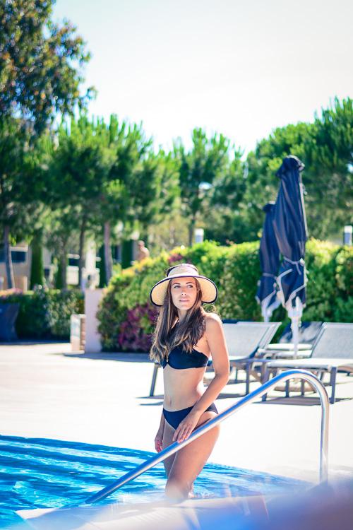 Picking the right swimwear - Wearing Black Swimwear from Bra Clinic