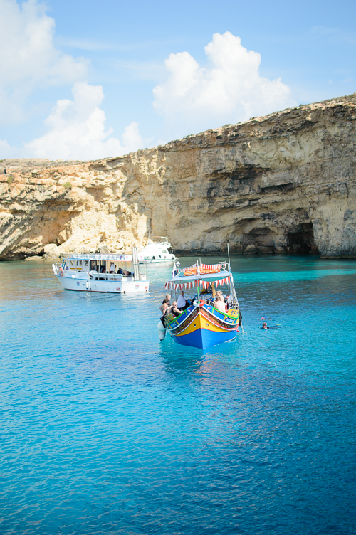Blue lagoon island of Malta
