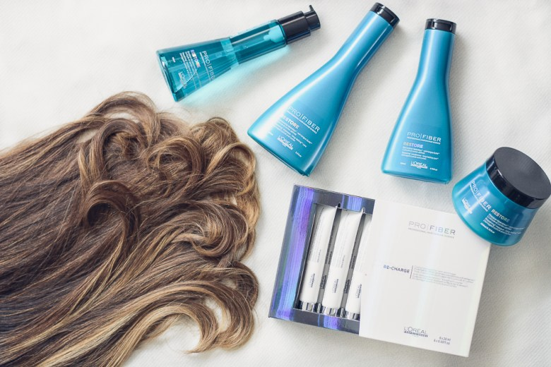 Loreal Pro Fiber and Denina Martin