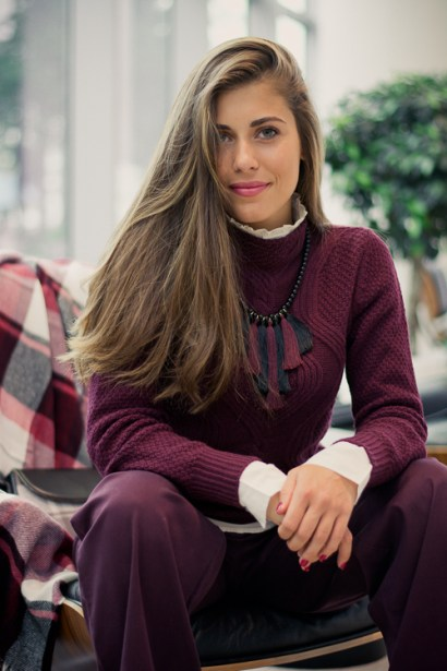 CLOTHES FOR HUMANS Beautiful Denina Martin at Bulgaria Mall