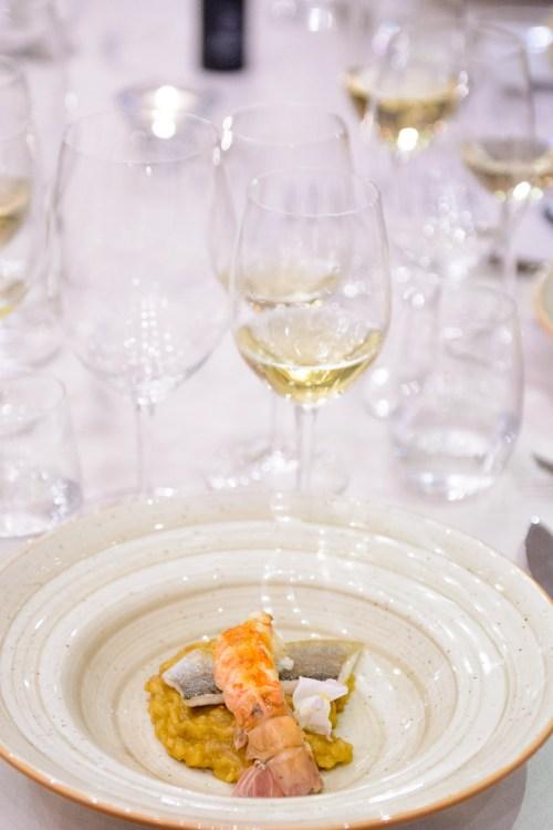 Dish by Chef Jordi Esteve 5th Premier gastronomy festival 2016