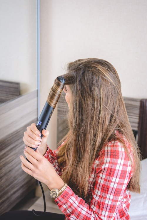 Philips sublime ends flat iron
