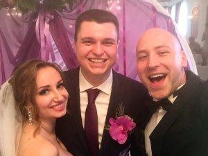 Ведущий в Киеве на свадьбе Юлии и Антона 9 июня 2017 года