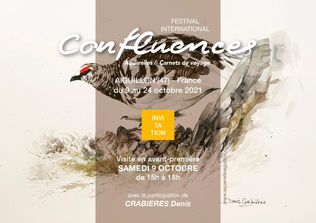 Festival international d'aquarelle «Confluences»