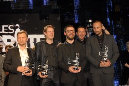 """Les Magrittes du cinéma 2011 - L'équipe du film """"Rundskop"""""""