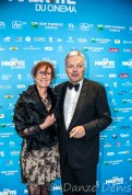 Didier Reynders - Ministre des Affaires et étrangères, et son épouse