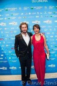 Tania Gabarski - fille du réalisateur Sam Gabarski et Actrice de cinéma & Charlie Dupont son conjoint et Acteur de télévision