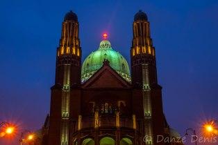 La Basilique de Koekelberg en nocturne #1