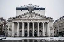 Théâtre de La Monnaie de jour
