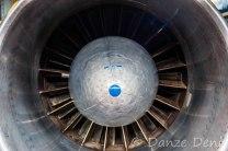 Réacteur d'un Boeing 707