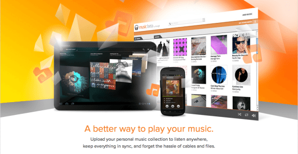 Music Beta bij Google