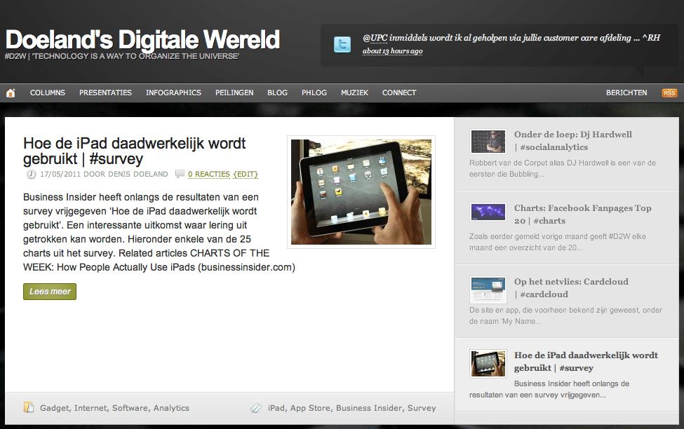 Doelands Digitale Wereld Week 19