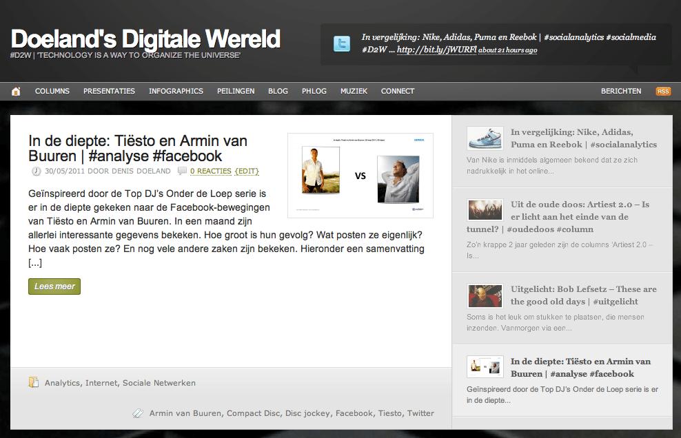Leesvoer: Week 22 op D2W