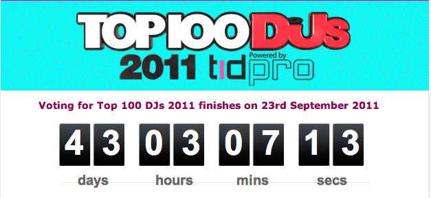 Dj Mag Top 100 - 2011