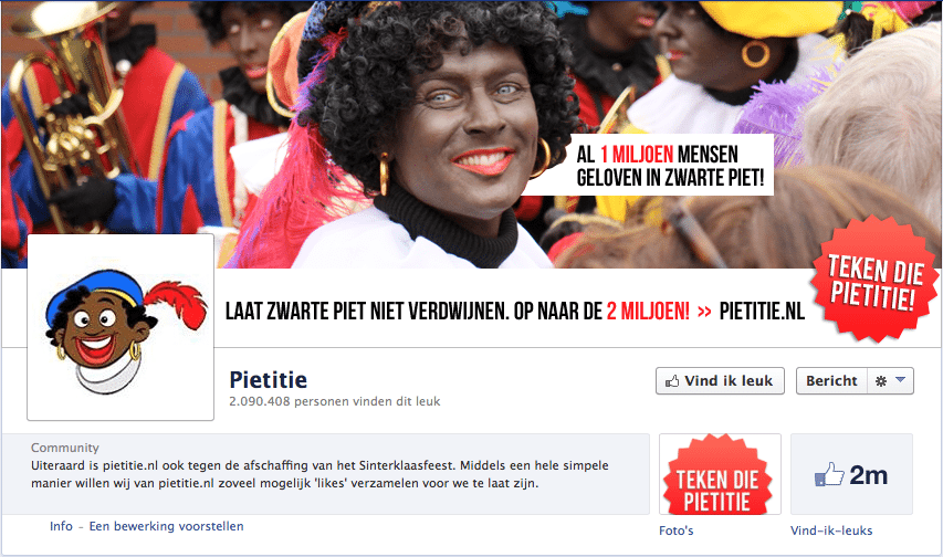 Pietitie Facebookpagina