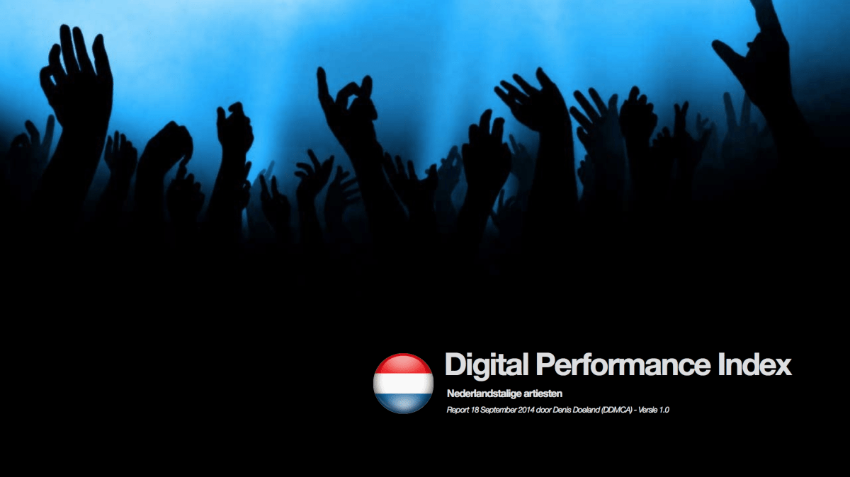 Digital Performance Index - Nederlandse artiesten