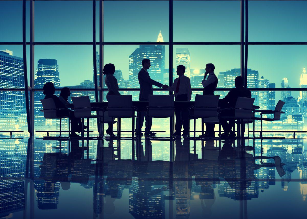 business bestuurskamer