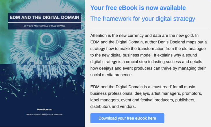 EDM and the Digital Domain - Download eBook
