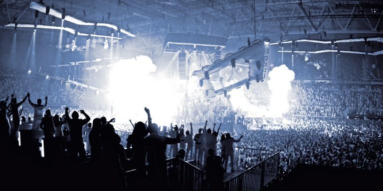 wereldwijde dance-industrie